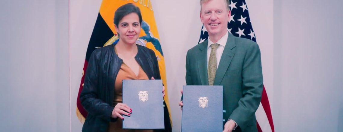 Estados Unidos y Ecuador firmaron un acuerdo para mejorar la seguridad fronteriza