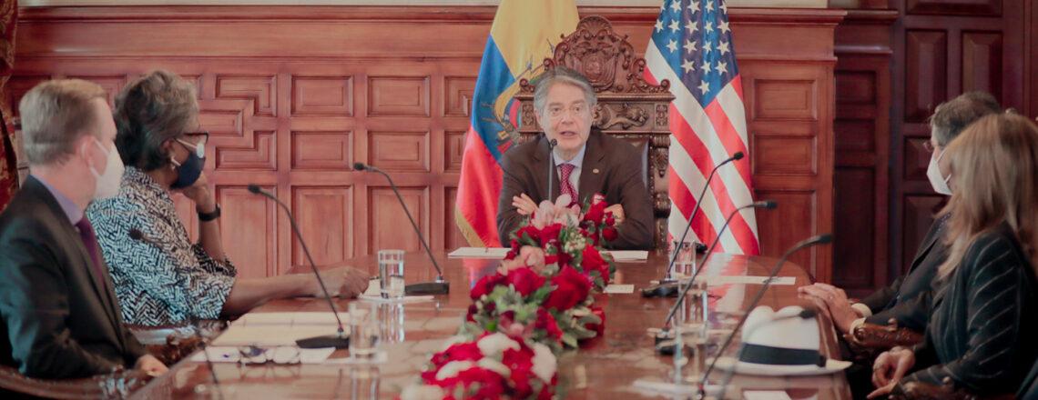 Delegación Presidencial de EE.UU. se reúne con el Presidente Guillermo Lasso