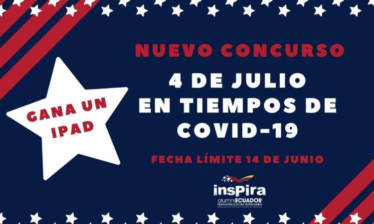 Concurso: conmemorar el 4 de julio en tiempos de COVID-19