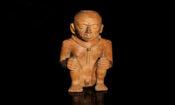 Uno de los 2.800 artefactos completos de la colección de la cultura Caranqui.