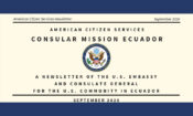 American Citizen Services Newsletter September 2020