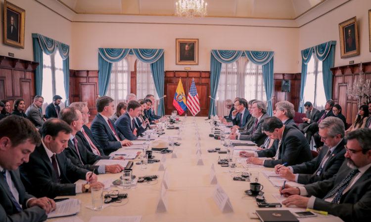 Diálogo Político Bilateral Ecuador-Estados Unidos