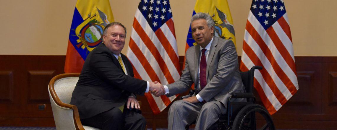 Secretary of State Michael R. Pompeo visited Ecuador