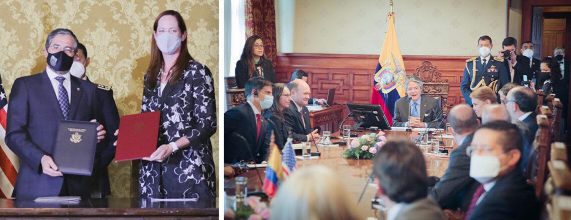 Los EE.UU. asigna casi $6 millones en fondos adicionales a Ecuador