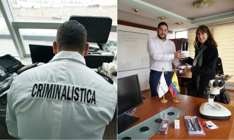 Donación de equipos para la lucha antiterrorismo en Ecuador