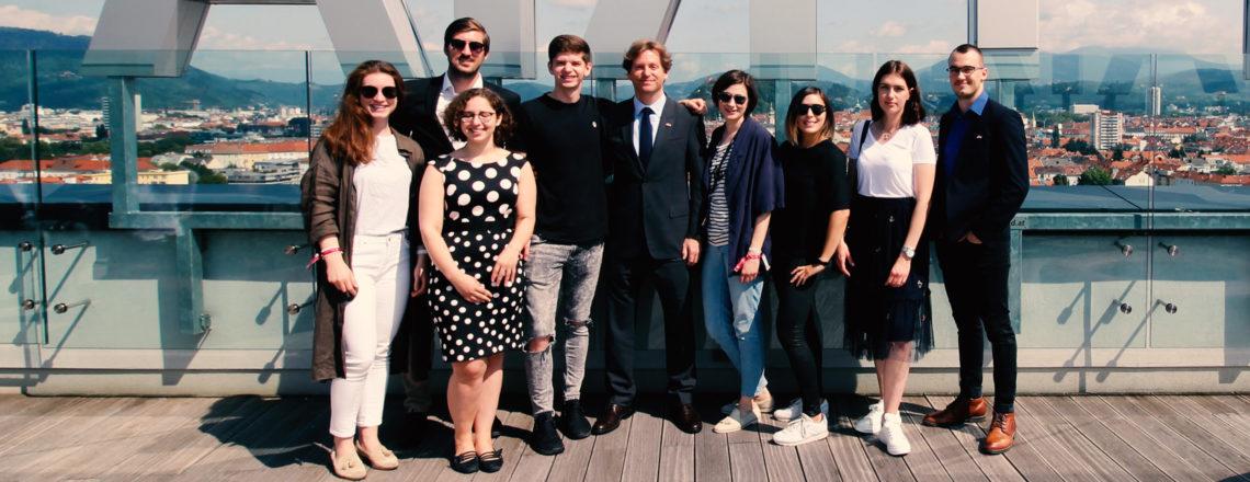 Botschafter Traina setzt sich in Graz für Entrepreneurship ein