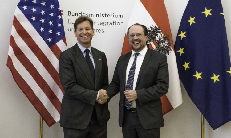 Meeting at the Austrian Foreign Ministry