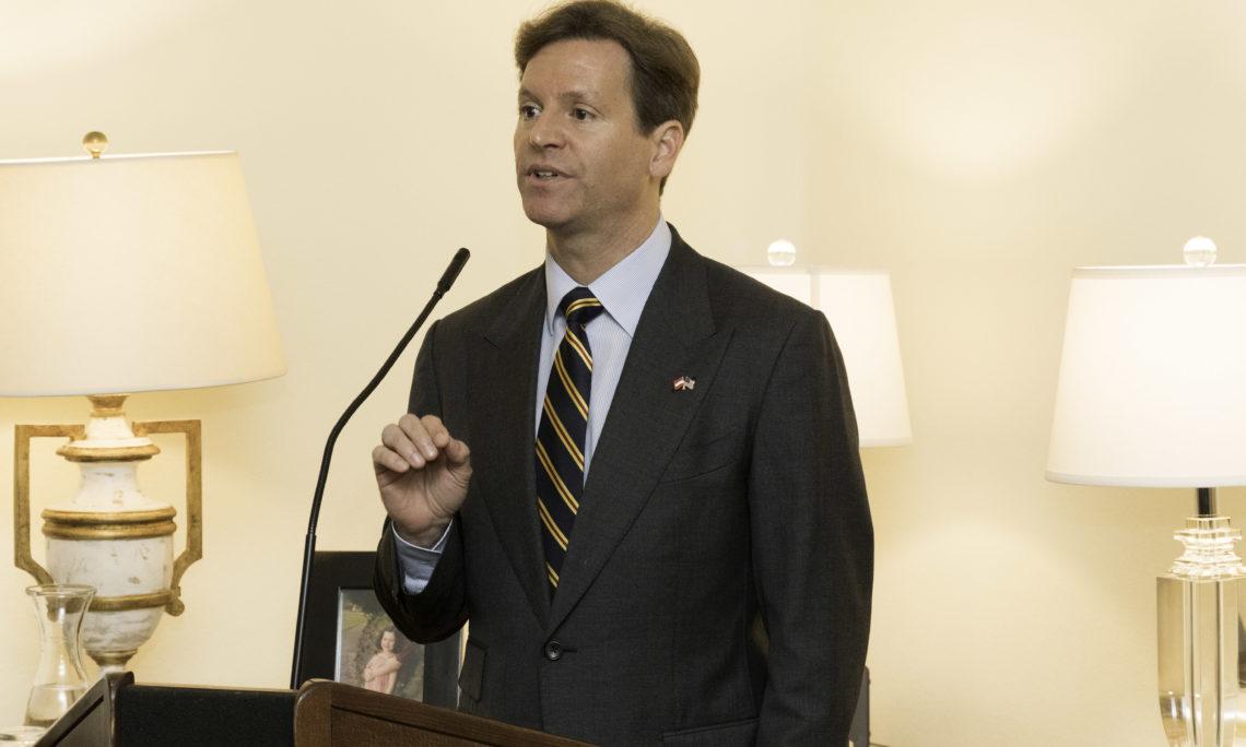 U.S. University Alumni, Ambassador Trevor Traina