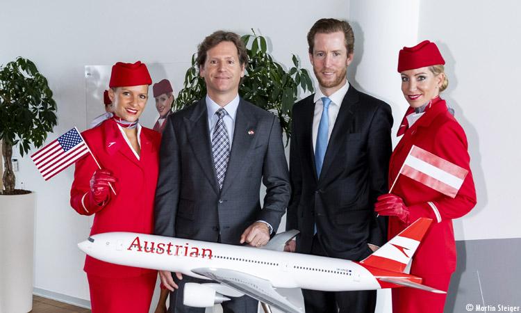 Ambassador visits Austrian Airlines