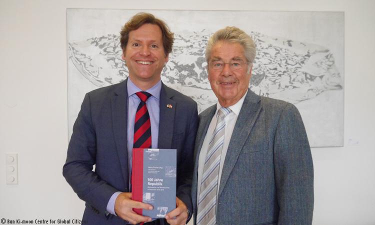 Botschafter traf Heinz Fischer