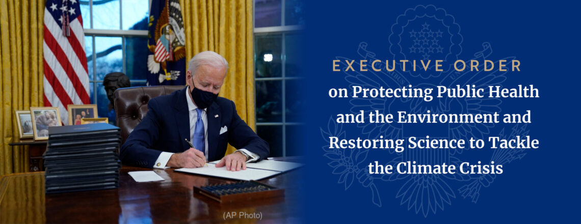 President Biden signs Executive Order