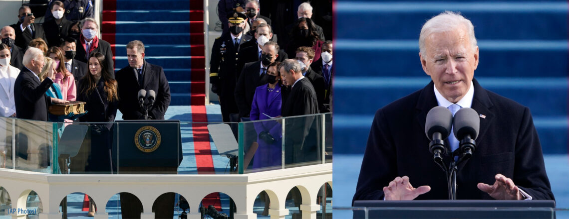President Joseph R. Biden, Jr. – Inaugural Address