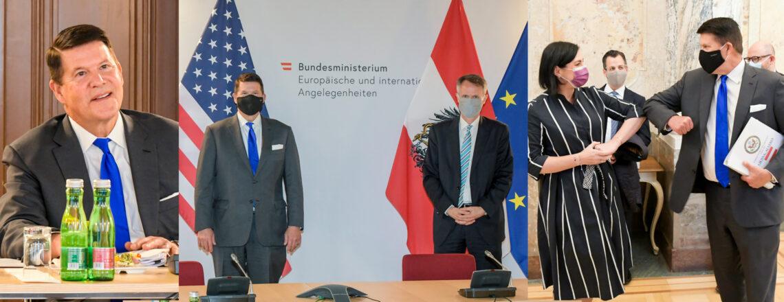 Under Secretary Keith Krach in Vienna