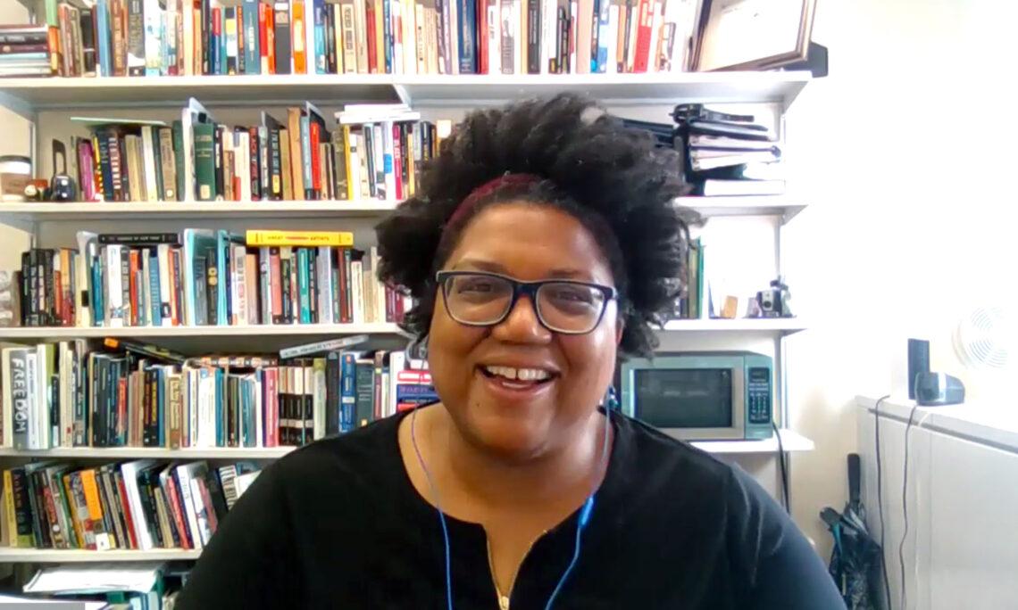 Black History Month Sprecherin