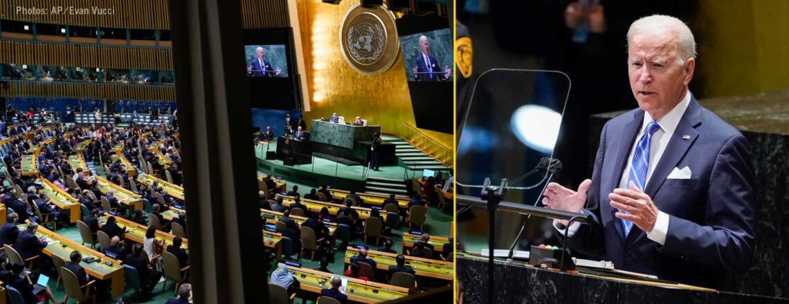 Remarks by President Biden Before the 76th Session of the UN General Assembly
