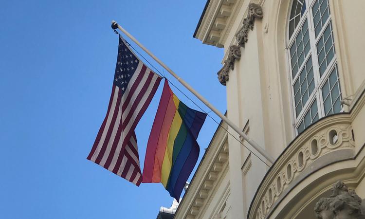 LGBTI pride flag