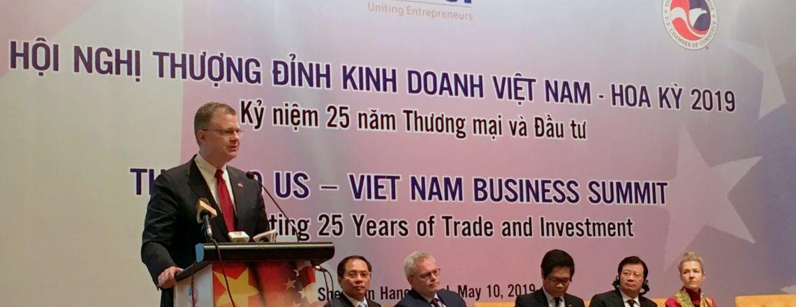 Speech by Ambassador Daniel J. Kritenbrink at U.S. – Vietnam Business Summit