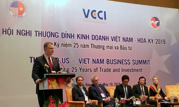 Speech by Ambassador Daniel J. Kritenbrink at U.S. - Vietnam Business Summit