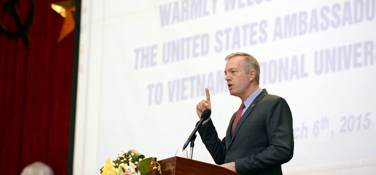 Ambassador's Policy Address at Vietnam National University, Hanoi