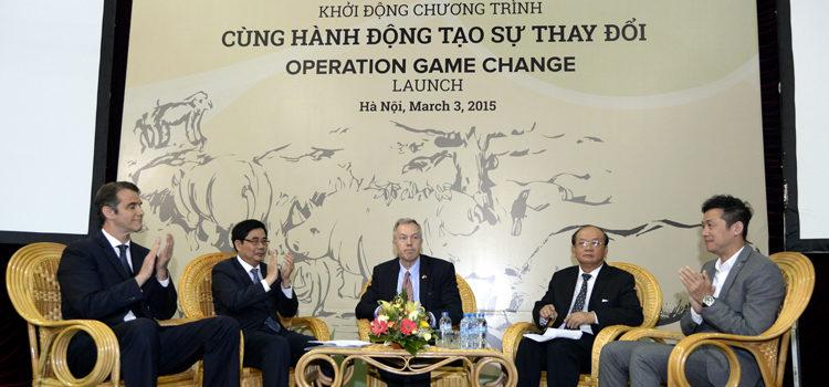 Chương trình Cùng hành động tạo sự thay đổi đánh dấu Ngày Động vật Hoang dã Thế giới tại Việt Nam