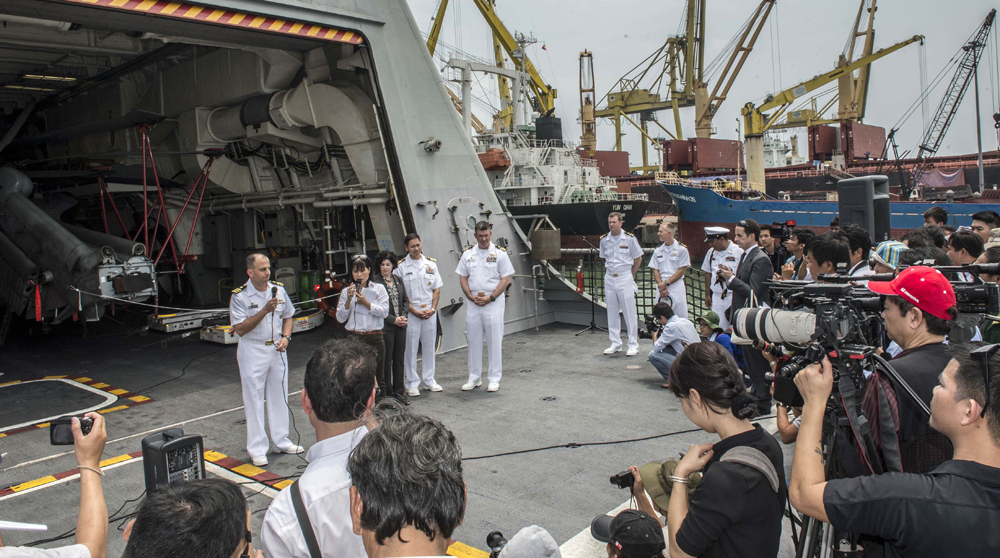 Naval Engagement Activity Underscores Deepening Relationship