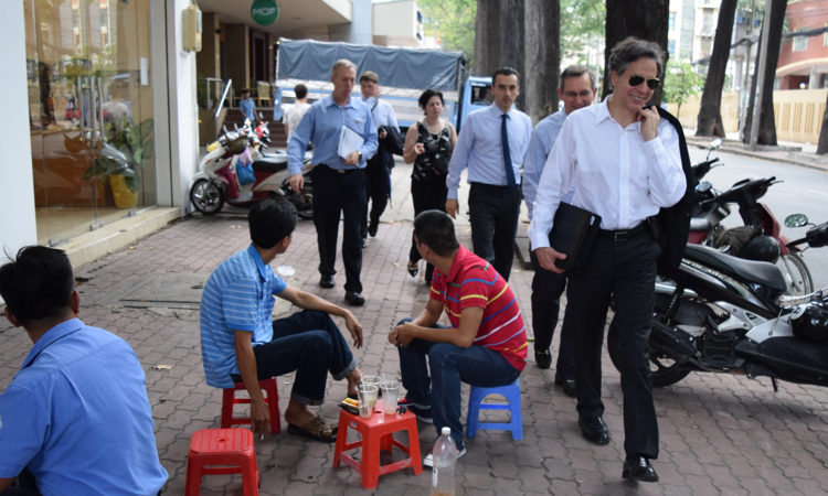 Deputy Secretary of State Antony Blinken tours Ho Chi Minh City