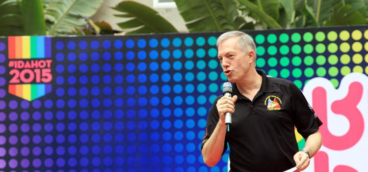 Đại sứ Ted Osius phát biểu tại IDHAOT – Thị trấn BUBU