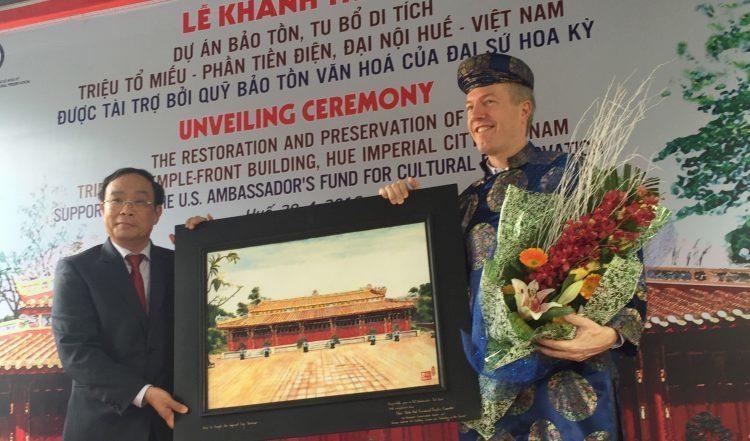 Unveiling Ceremony - Ambassador's Fund for Cultural Preservation
