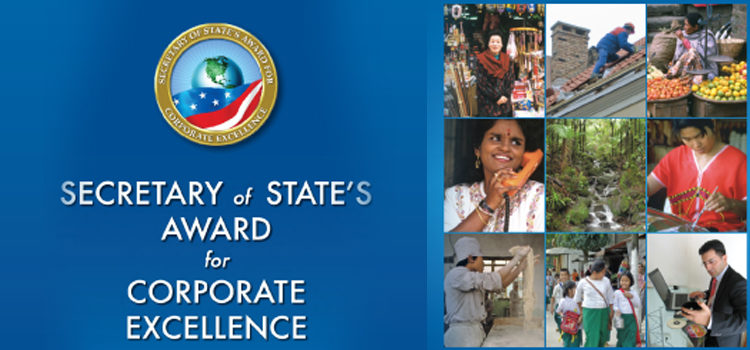 Secretary of State's Award for Corporate Excellence