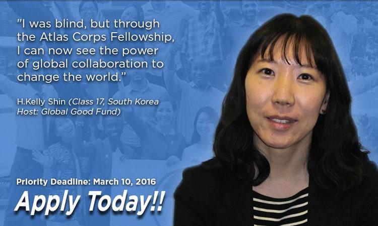 Học bổng Atlas Corps toàn cầu cho các nhà lãnh đạo đang lên