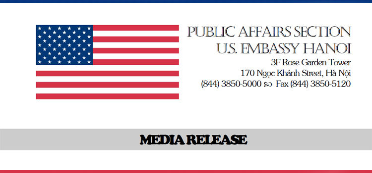 Press Releases Archives | U S  Embassy & Consulate in Vietnam