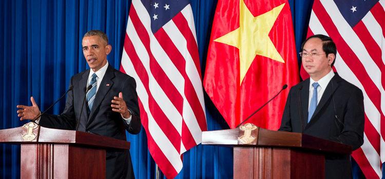 Phát biểu của Tổng thống Obama và Chủ tịch nước Trần Đại Quang tại Cuộc Họp báo Chung