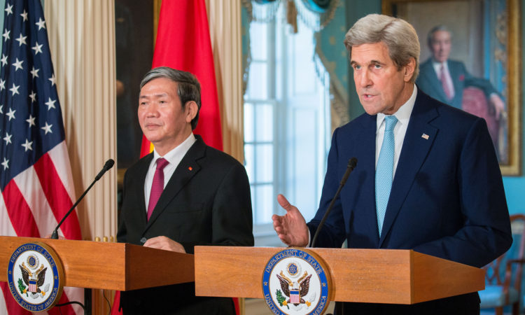 Secretary of State John Kerry's Remarks With Executive Secretary of the Communist Party of Vietnam Dinh The Huynh