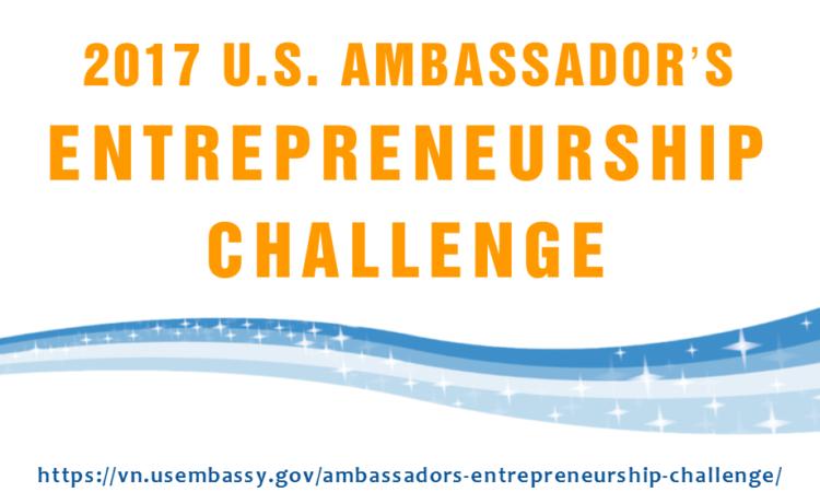 Thử thách Khởi nghiệp của Đại sứ Hoa Kỳ - 2017