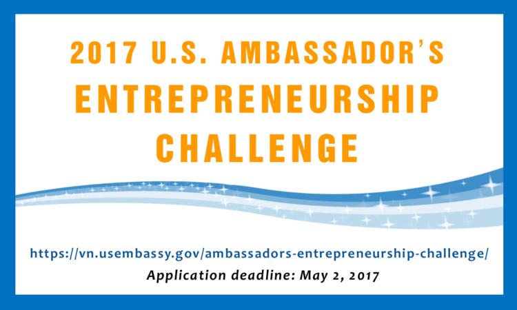 2017 U.S. Ambassador's Entrepreneurship Challenge