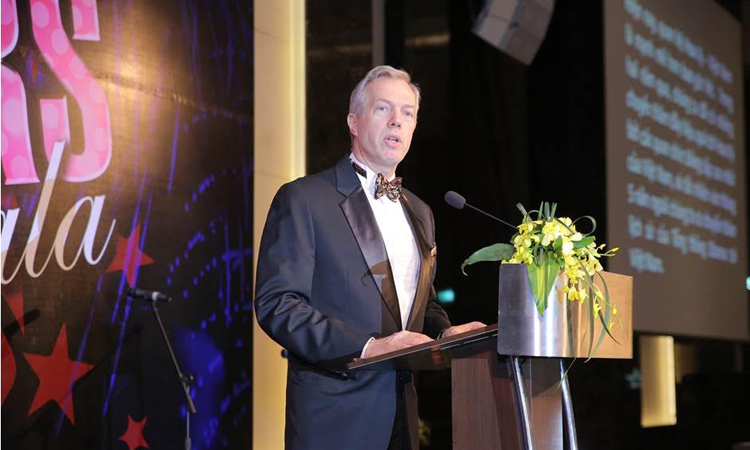 Ambassador Osius's Remarks to the AmCham Movers and Shakers Gala, 3/25/2017