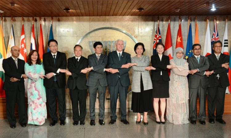 Vice President Mike Pence at ASEAN Secretariat