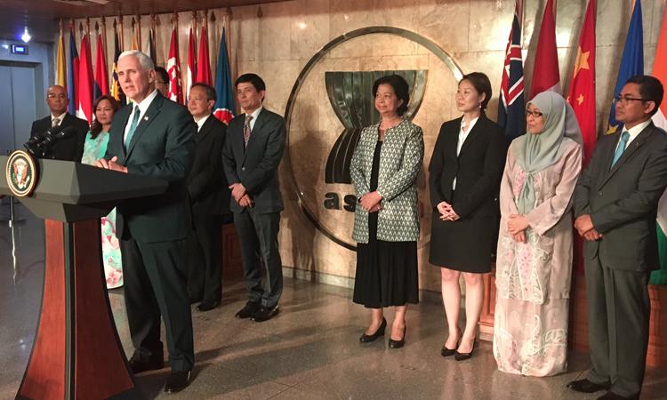 Phát Biểu Của Phó Tổng Thống Mỹ Mike Pence Tại Hội Nghị Các Đại Diện Thường Trực ASEAN