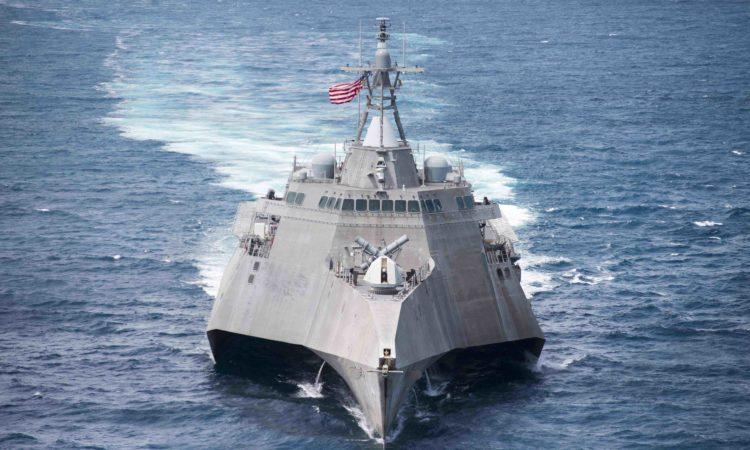 Littoral combat ship USS Coronado (LCS 4). Photo credit: U.S. Navy