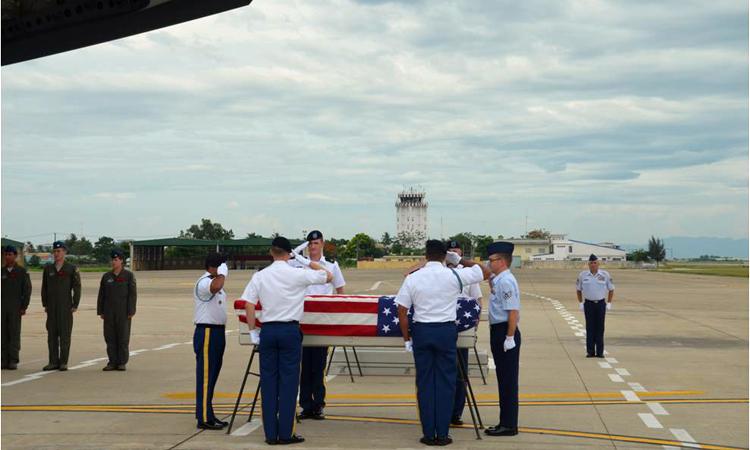 Hoa Kỳ tổ chức lễ hồi hương hài cốt quân nhân Mỹ lần thứ 141