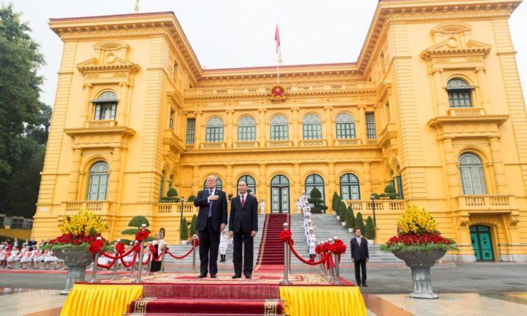 Tổng thống Donald J. Trump thăm Việt Nam