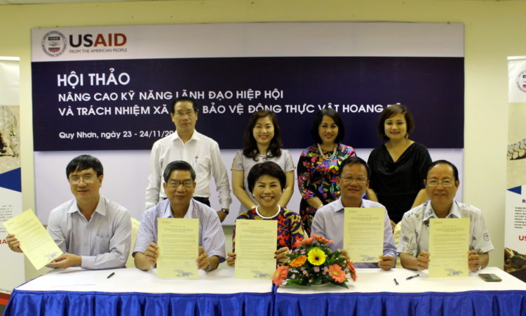 Businesses in Vietnam Pledge to Fight Illegal Wildlife Consumption at USAID Workshop
