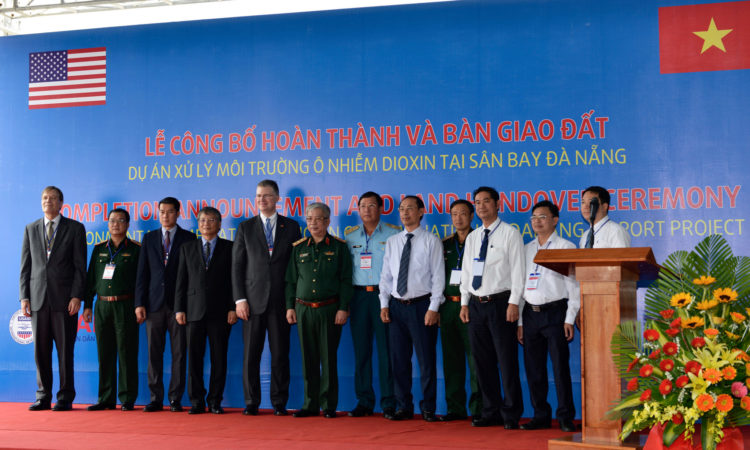 United States and Vietnam Complete Environmental Remediation at Danang Airport