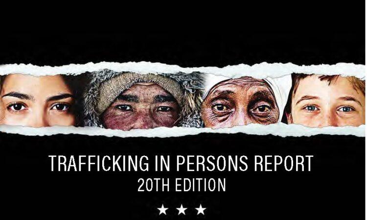 Báo cáo tình hình buôn người năm 2020