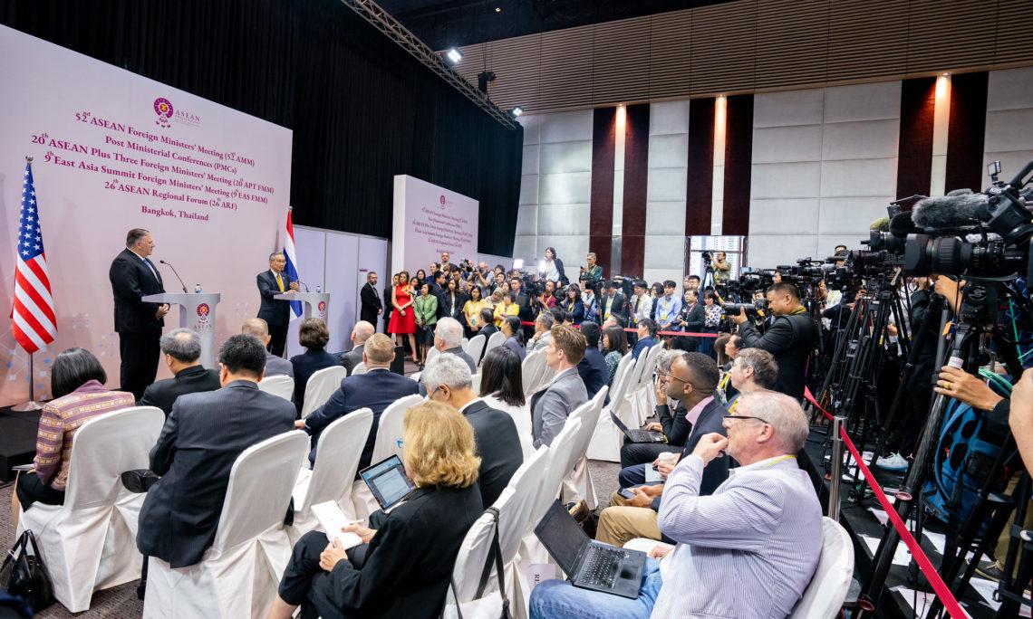 Ngoại trưởng Michael R. Pompeo Phát biểu khai mạc tại Hội nghị Ngoại trưởng Hoa Kỳ-ASEAN
