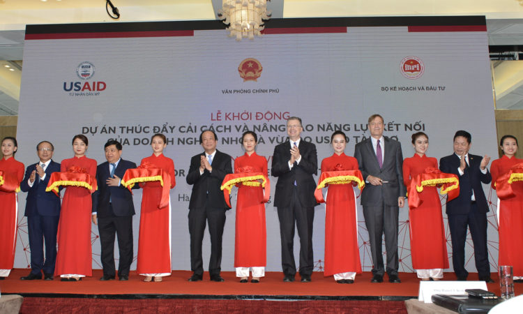 The United States Launches a Project to Help Improve Vietnamese Small and Medium Enterprise Supply Chain Linkages