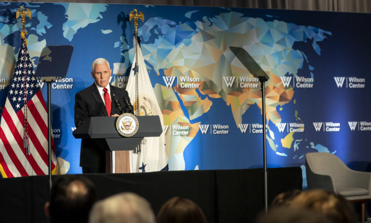 Remarks by Vice President Pence at the Frederic V. Malek Memorial Lecture