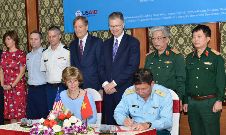 United States and Vietnam Sign Land Handover Memorandum to Initiate Dioxin Remediation at Bien Hoa Airbase Area
