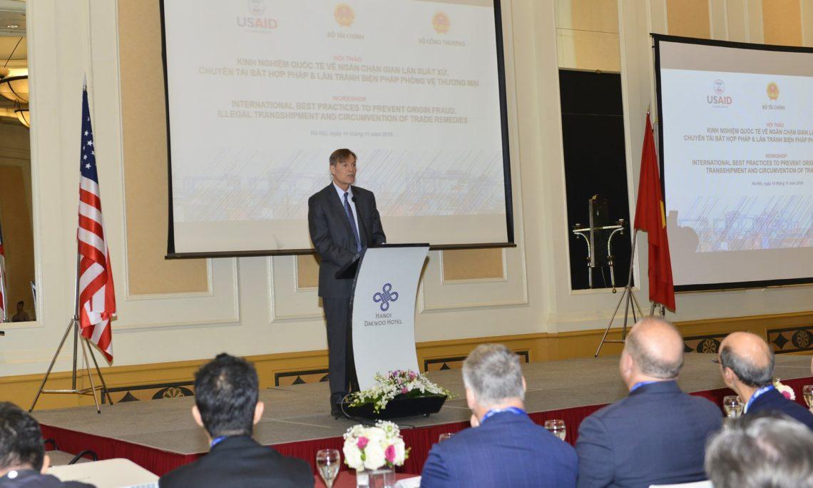 USAID Helps Vietnam Prevent Illegal Transshipment