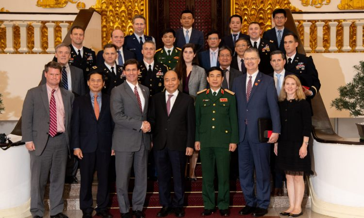 U.S. Secretary of Defense Mark Esper Visits Vietnam, Highlighting a Strong U.S.-Vietnam Partnership